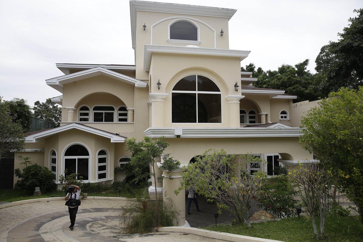 Una de las propiedades de Antonio Saca que la Fiscalía General comenzó la extinción de dominio de los bienes del expresidente salvadoreño. (EFE)