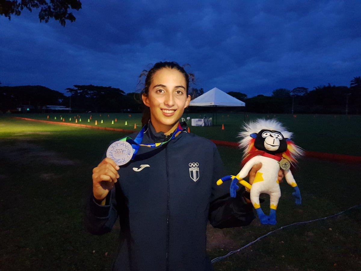 Sofía Cabrera termina exhausta y con la mayor alegría de su carrera en Barranquilla