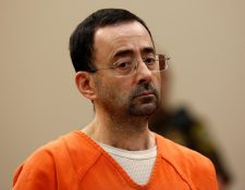 Larry Nassar se declaró culpable de los abusos a seleccionadas de gimnasia. (Foto Prensa Libre: AFP)