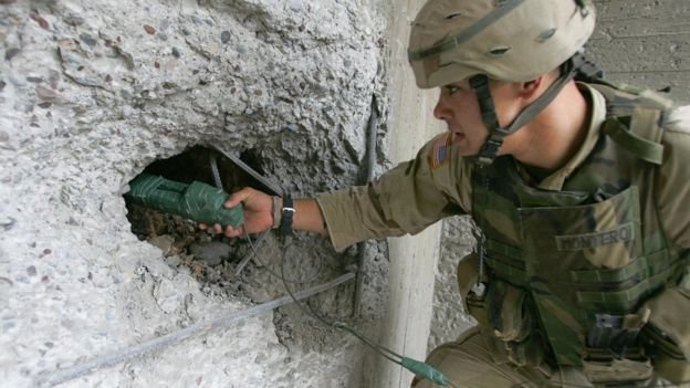Estados Unidos a menudo usa el C4 en operaciones militares. (Getty Images)