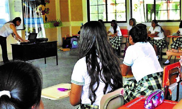 El Renás se convierte en una herramienta útil para proteger a los estudiantes de cualquier persona que quiera vulnerar su integridad. (Foto Prensa Libre: Hemeroteca PL)