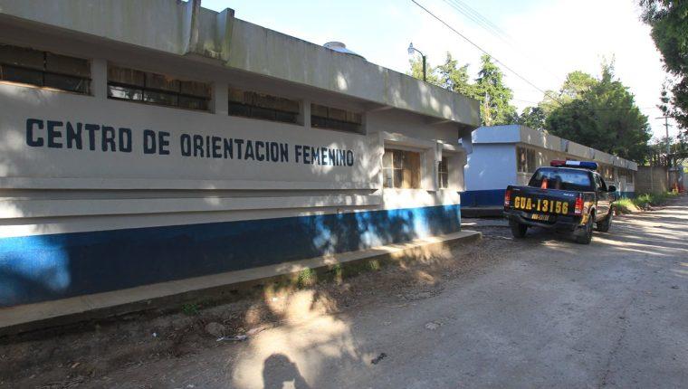 El centro de Orientación Femenina (COF), en Fraijanes, Guatemala. (Foto Prensa Libre: Hemeroteca PL)