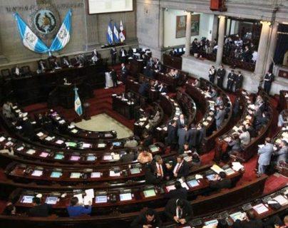 El pleno del Congreso integraría la Comisión Pesquisidora que investigará el antejuicio en contra del Presidente el próximo martes. (Foto Prensa Libre: Hemeroteca PL)