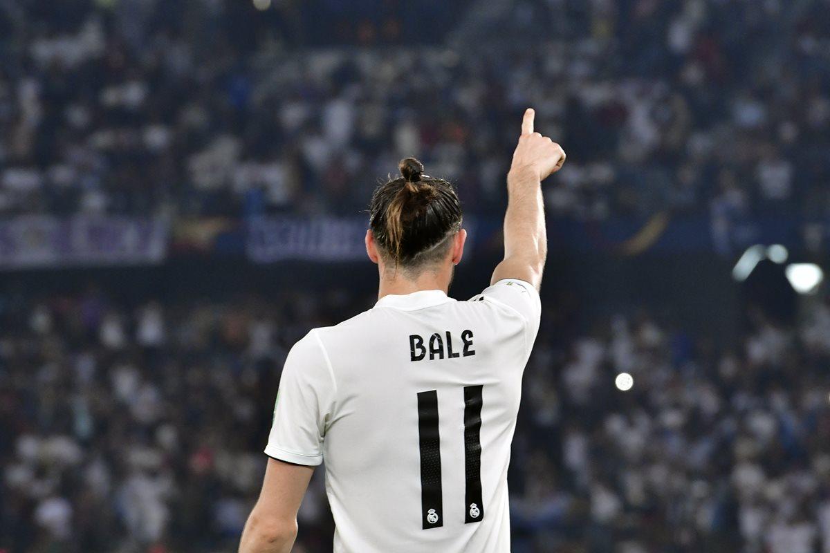 El gales Gareth Bale lideró al Real Madrid en su victoria 3-0 contra el Kashima Antlers. (Foto Prensa Libre: AFP)