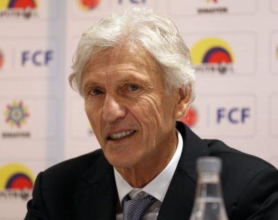 José Pékerman se despidió este martes de la Selección de Colombia. (Foto Prensa Libre: EFE)