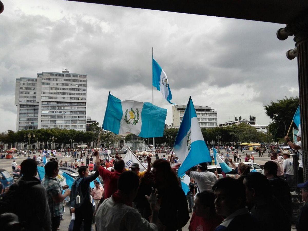 Se reaviva el reclamo cívico de los guatemaltecos