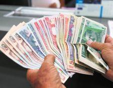 Atención en agencias bancarias del país será irregular en los próximos tres días informó la SIB. (Foto Prensa Libre: Hemeroteca PL)