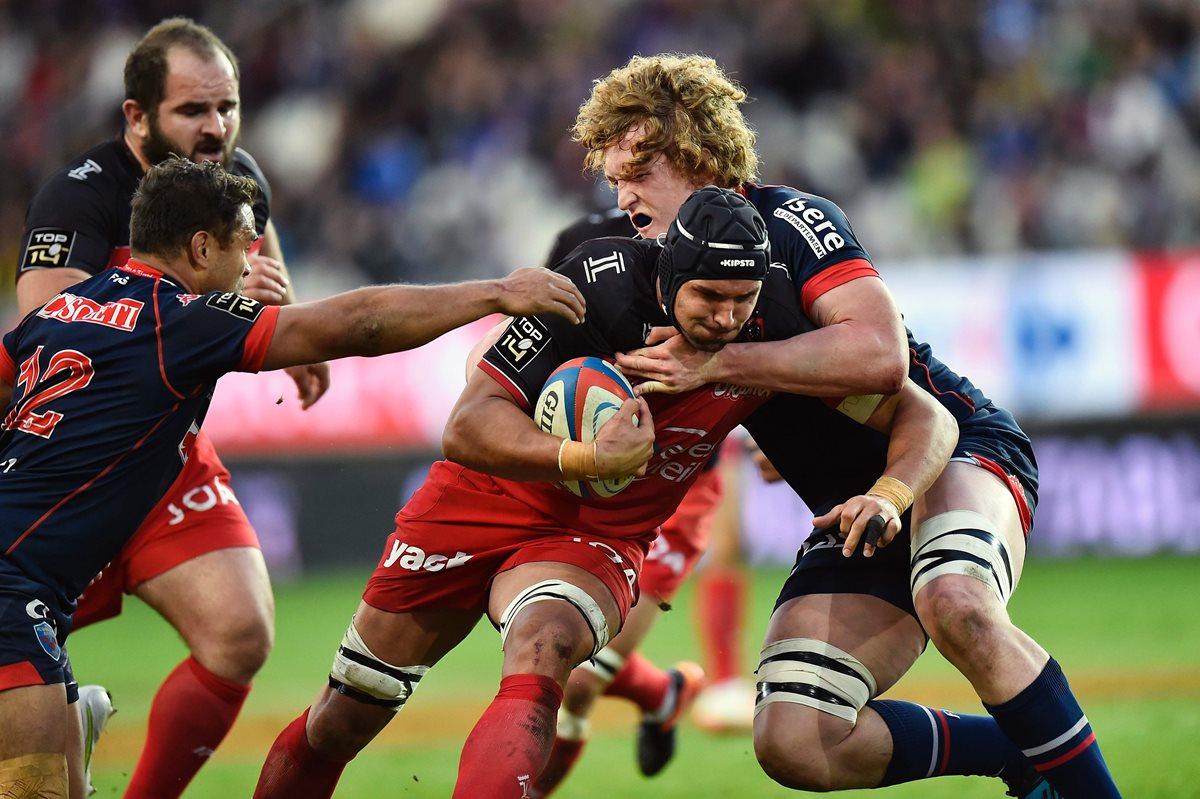 Seis jugadores del FC Grenoble de rugby francés fueron puestos hoy bajo custodia policial en Burdeos. (Foto Prensa Libre: AFP)