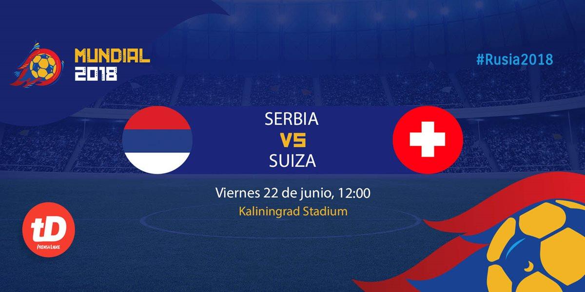 EN DIRECTO | Serbia vs Suiza