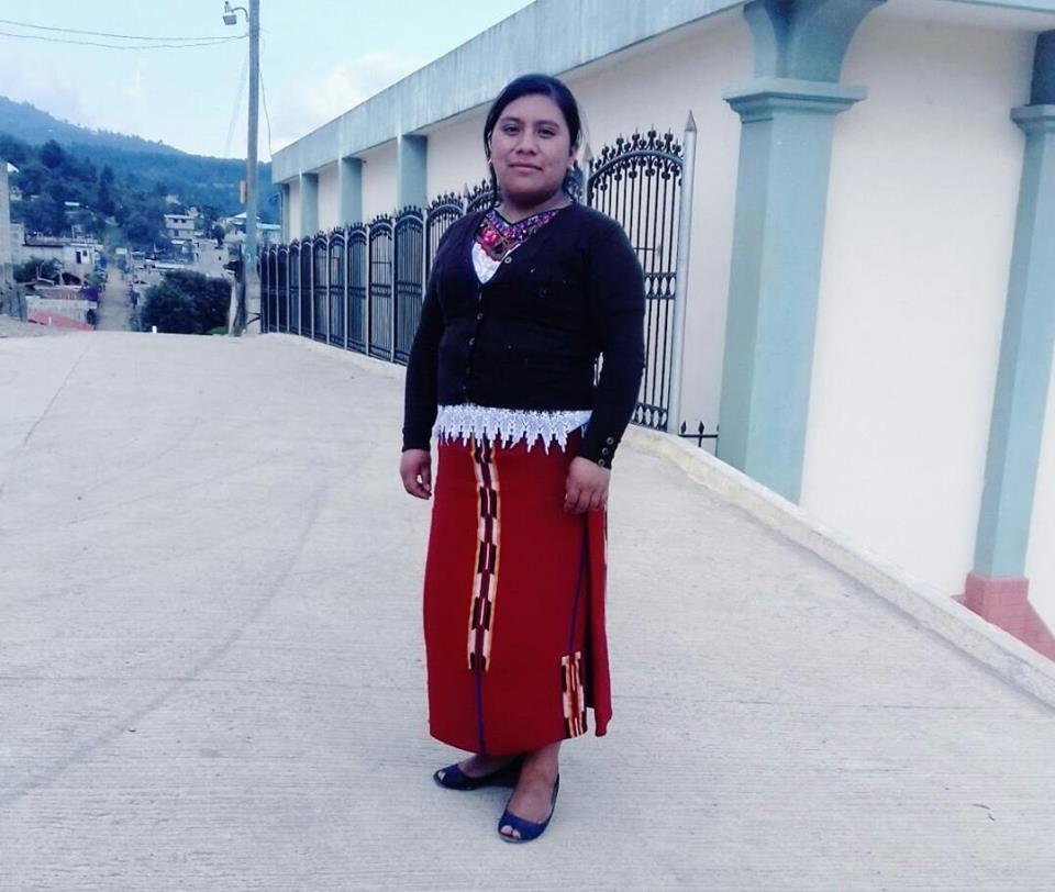 Juana Raymundo, de 25 años, fue encontrada sin vida en un río el pasado 28 de julio en Santa María Nebaj. (Foto Prensa Libre: Héctor Cordero)