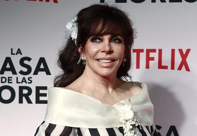Verónica Castro recuerda que es la reina de las telenovelas