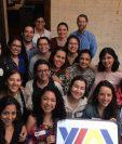 Los jóvenes líderes luego se distribuirán a 20 ciudades de los Estados Unidos para participar en entrenamientos de cuatro semanas. (Foto Prensa Libre: ylai.state.gov)
