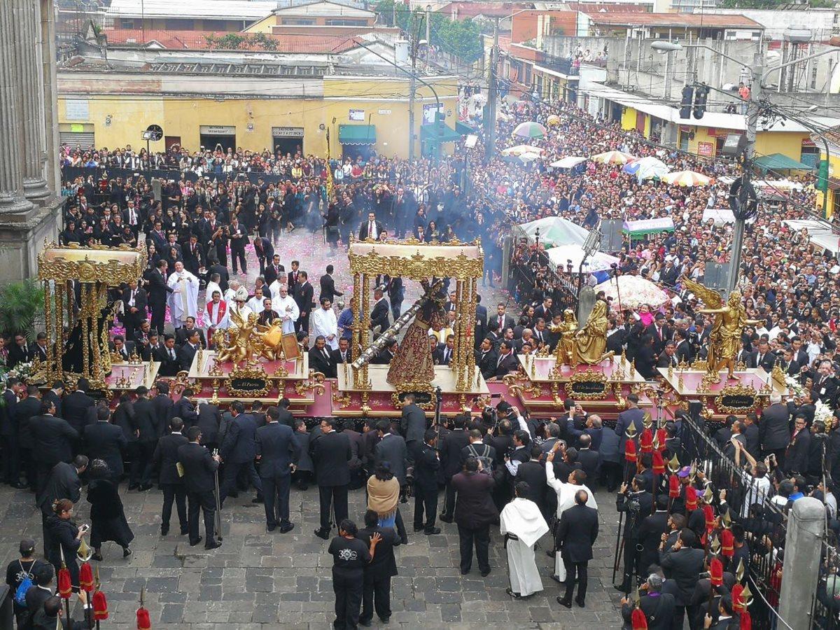 PMT recomienda prevenir atascos durante recorrido de procesión de Jesús de La Merced