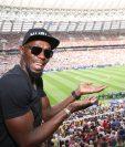 Usain Bolt podría vincularse en las próximas semanas a un equipo de Australia. (Foto Usain Bolt).