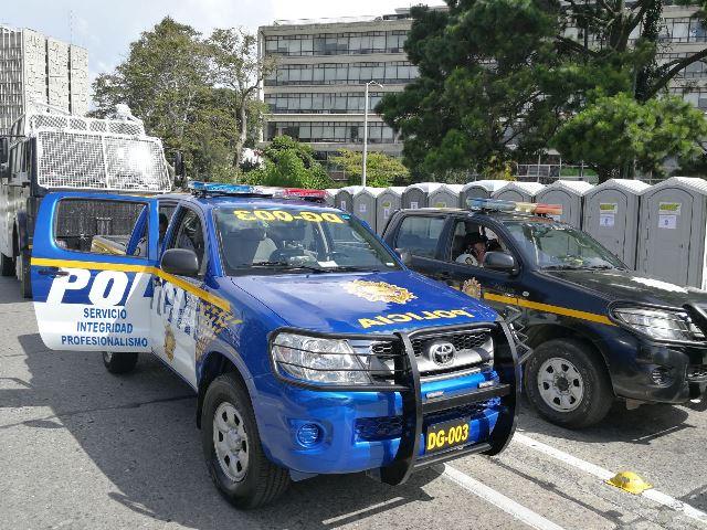 Los repuestos recibidos por el Ministerio de Gobernación están destinados parar reparar 160 autopatrullas. (Foto Prensa Libre: Hemeroteca)