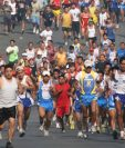 Más de 8 mil personas participan cada año en la carrera que se realiza en Cobán. (Foto Hemeroteca PL).