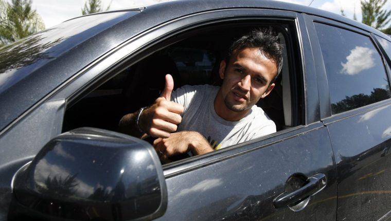 José Manuel Contreras jugó en el Arsenal de Sarandí, equipo que hoy perdió la categoría en el futbol argentino. (Foto Prensa Libre: Hemeroteca PL)