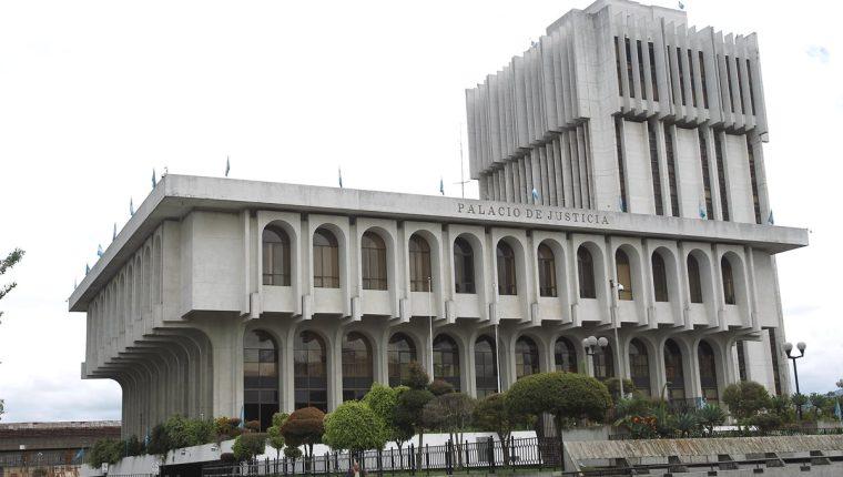 Edificio de la Corte Suprema de Justicia y Organismo Judicial. (Foto Prensa Libre: Hemeroteca PL)