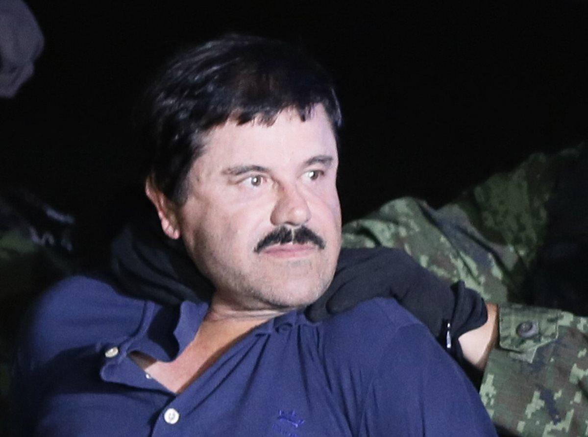 Recaptura del Chapo en enero del 2016. (Foto: Hemeroteca PL)