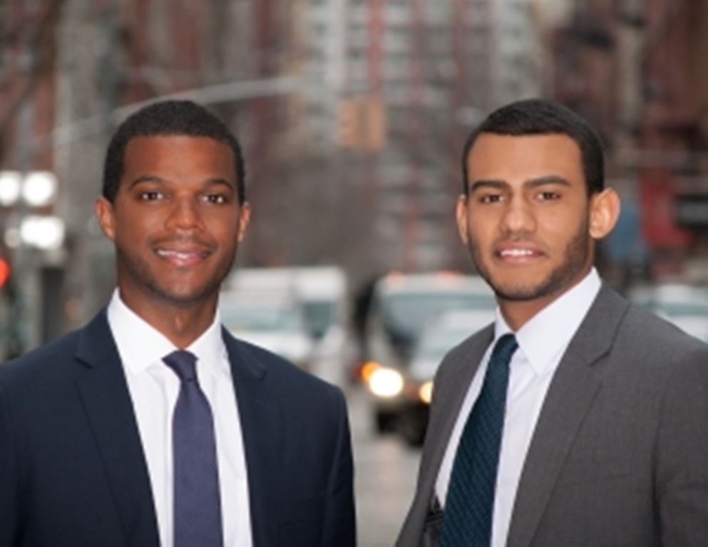 Ryan Williams y Porter Braswell, dos emprendedores afroamericanos exitosos en Silicon Valley. (Foto PL: Internet)