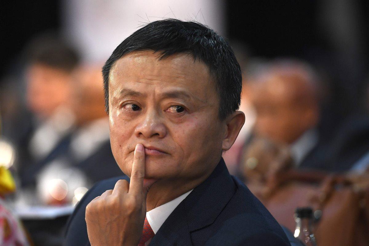 La revista Forbes clasificó a Jack Ma como el hombre más rico de China, con una fortuna estimada en US$35.800 millones. (Foto Prensa Libre: AFP)