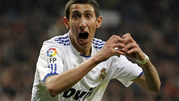 El Real Madrid vendió al argentino Ángel Di María al Manchester United con cláusula antiequips españoles. (Foto Prensa Libre: Hemeroteca)