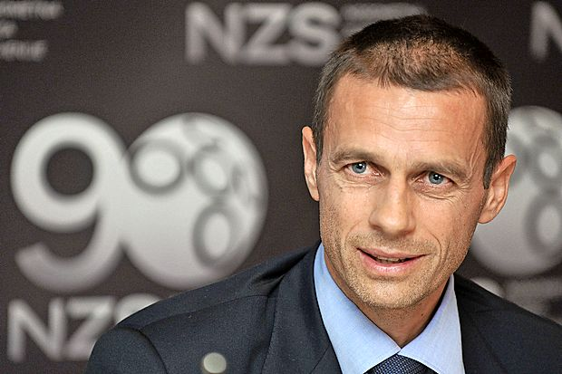 Presidente de la UEFA apoyaría candidatura inglesa para Mundial 2030