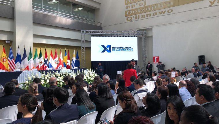 Se espera que el comisionado Iván Velásquez haga una declaración a través de videoconferencia durante la entrega del 11 informe de labores de la Cicig. (Foto Prensa Libre: Cicig)