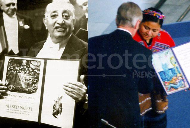 Dos Premios Nobel Para Guatemala Prensa Libre