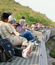 La organización Save the Children urgió la protección de los niños migrantes del Triángulo Norte de Centroamérica. (Foto Prensa Libre: Hemeroteca PL)