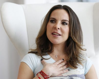 Kate del Castillo denunció al a la Fiscalía mexicana por persecución política. (Foto Prensa Libre: Hemeroteca PL)