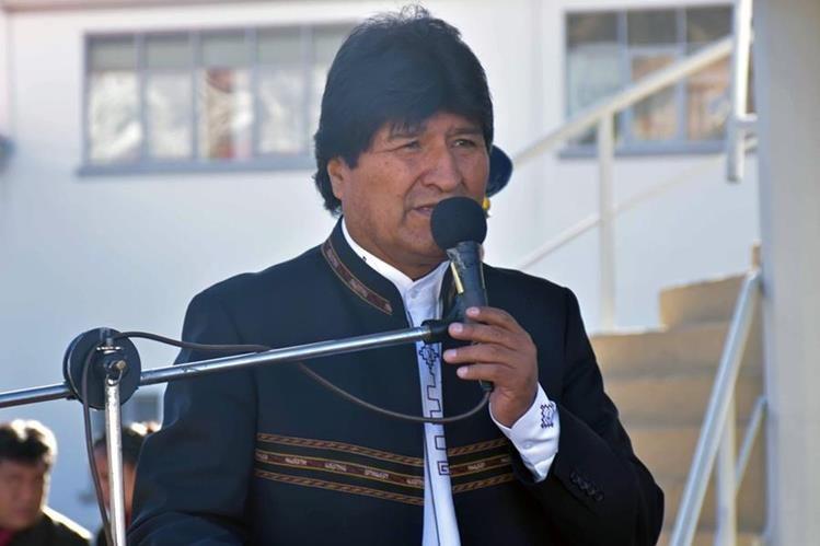 Evo Morales confirma desaceleración