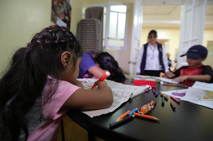 Niños retornados que fueron separados de sus padres en EE. UU. (Foto Prensa Libre: Hemeroteca PL)