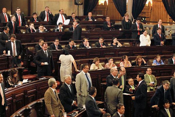 El Congreso deberá aceptar la renuncia de Pérez Molina y luego dar posesión a Maldonado Aguirre. (Foto Prensa Libre: HemerotecaPL)