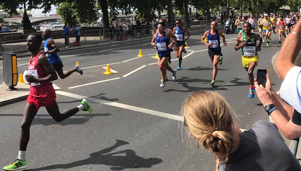 Amado el mejor guatemalteco en el Maratón en Londres