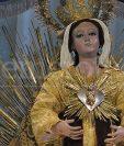 """Imagen de la Virgen de la O del Templo El Calvario también conocida como de """"los Remedios"""". (Foto: Néstor Galicia)."""