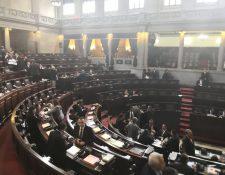 Diputados convocaron a la Comisión Postuladora en una sesión extraordinaria. (Foto Prensa Libre: Carlos Álvarez)