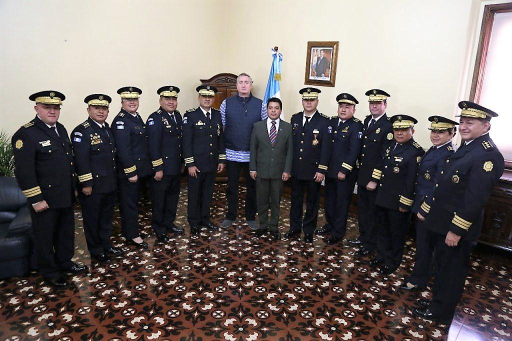 Ministerio de Gobernación completa remplazos en mandos de la PNC