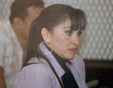 Marixa Lemus Reyes, presunta líder de la estructura criminal, La Patrona. (Foto Prensa Libre: Rodrigo Méndez)