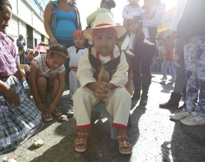 La devoción a la Virgen de Guadalupe y a la Inmaculada Concepción hace que muchos nombren a sus hijos así. (Foto Prensa Libre: Hemeroteca)