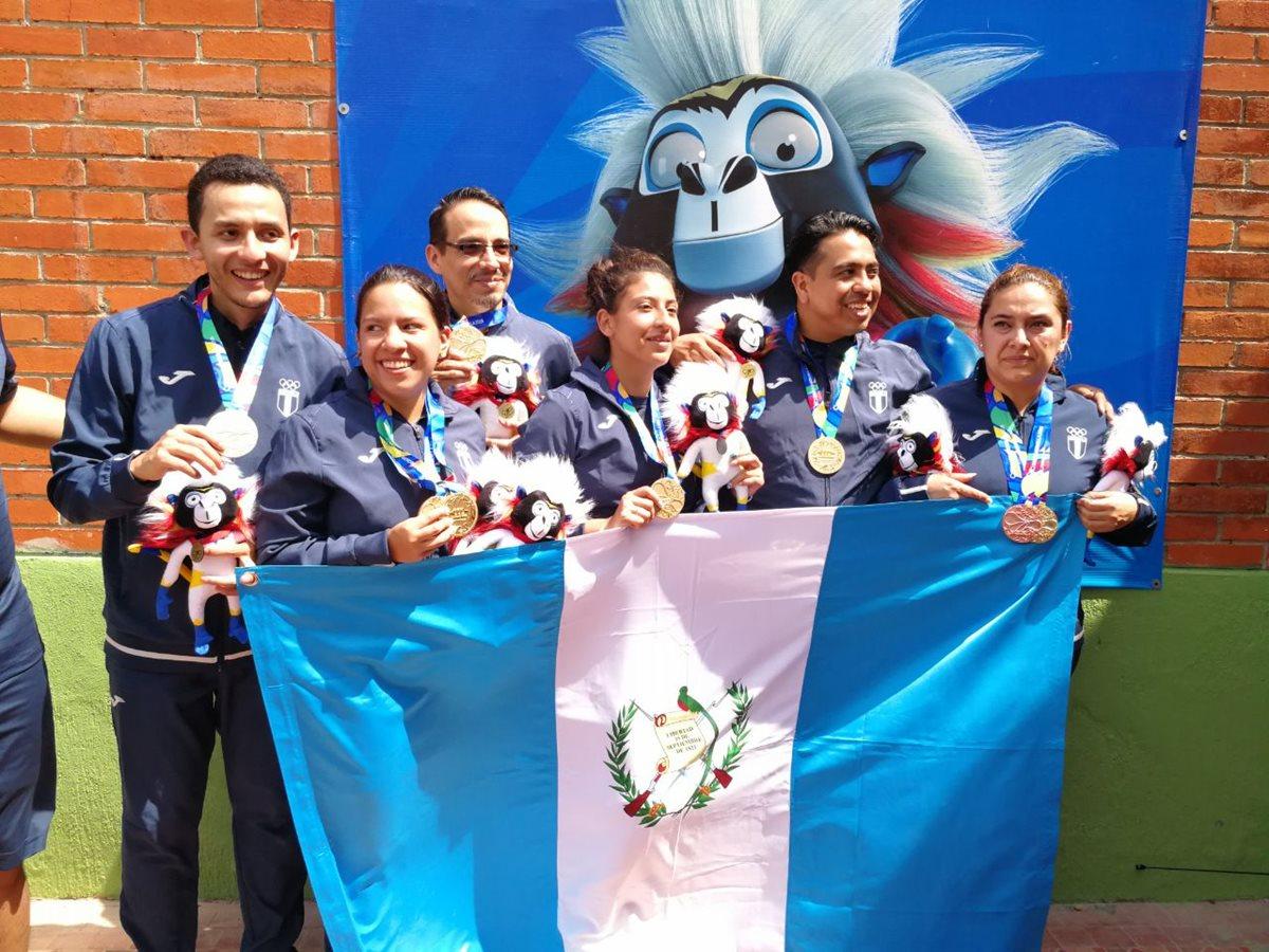Guatemala gana tres oros en tiro en los Juegos de Barranquilla