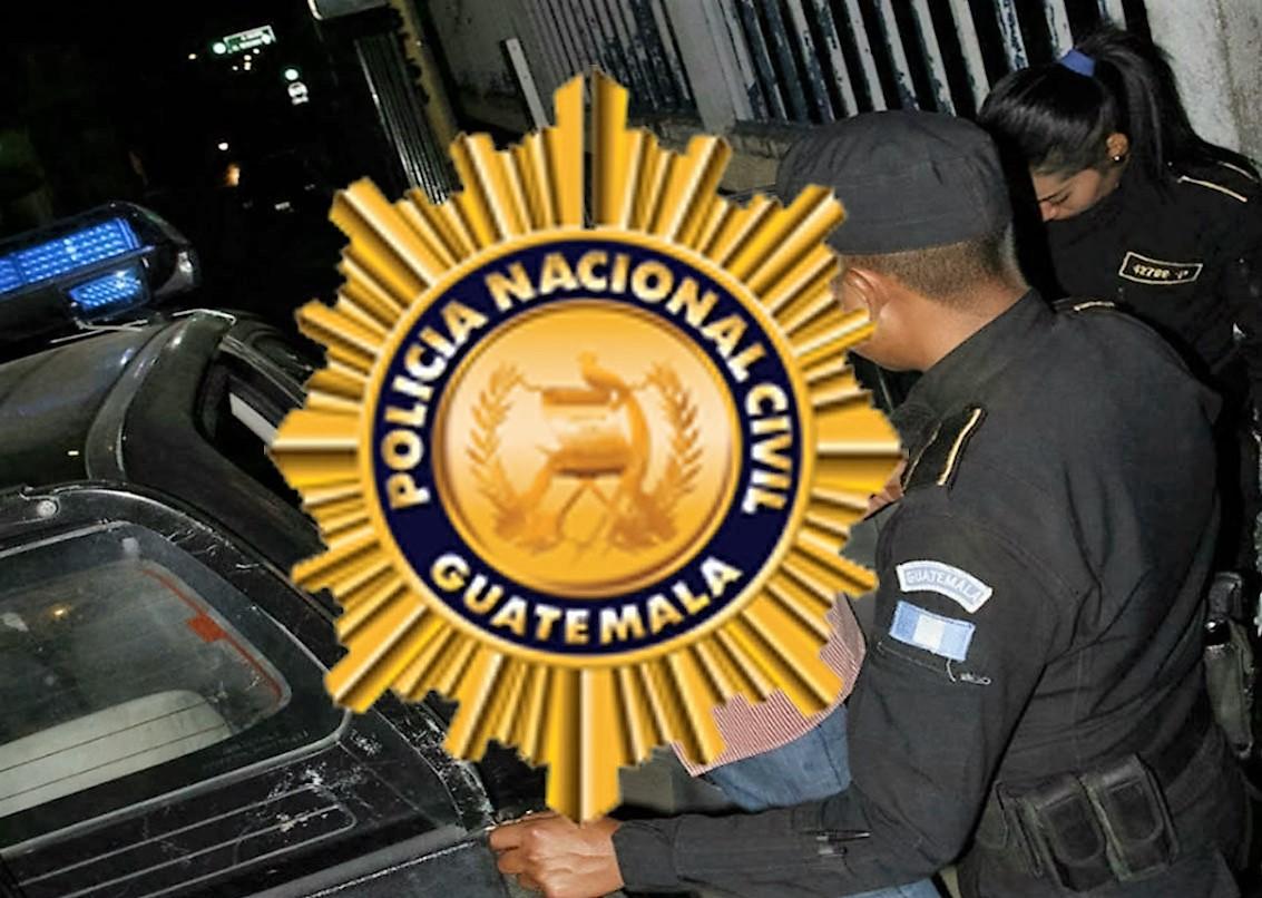 El capturado es un agente de la PNC jubilado, sindicado de abuso sexual contra una menor. (Foto Prensa Libre: PNC)