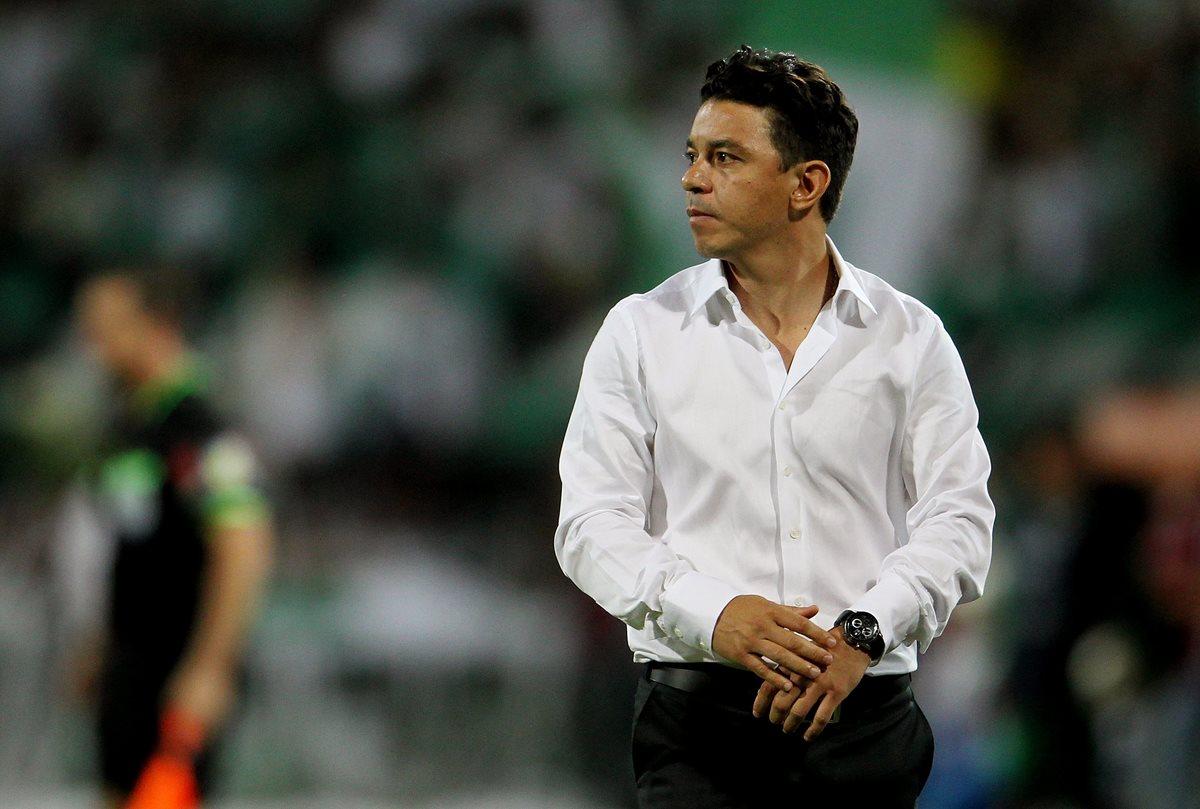 Marcelo Gallardo fue nominado como el rey de américa por sus logros. (Foto Prensa Libre: EFE)