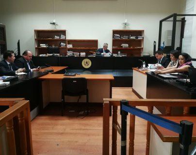 El juez Miguel Gálvez anuló el juicio abreviado al exbanquero Juan Abner Fonseca Galicia. (Foto Prensa Libre: Kenneth Monzón)