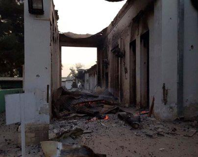 MSF rechaza fondos de EEUU para reconstruir el hospital bombardeado en Kunduz