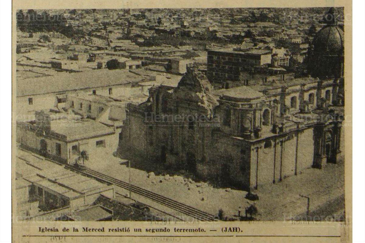 Los daños irreparables al patrimonio en 1976