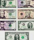 En EE.UU. todos los billetes llevan figuras de personajes hombres. (Foto Prensa Libre: Hemeroteca)