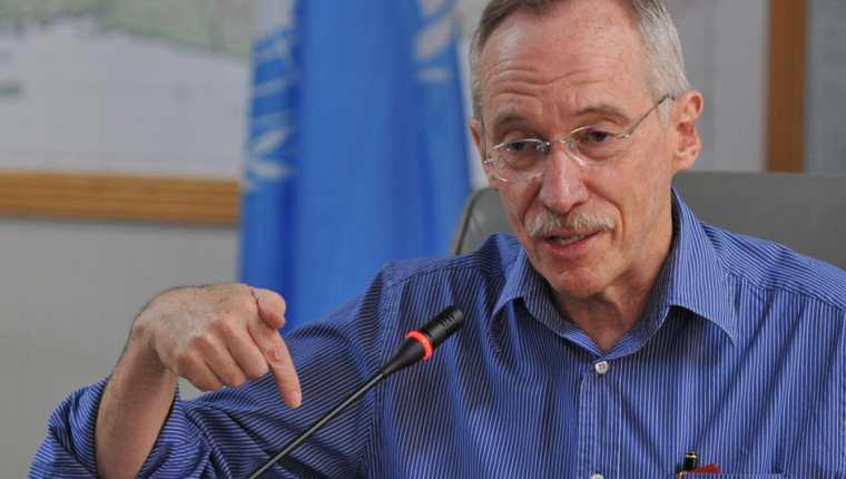 Edmond Mulet fue nombrado jefe de un comité encargado de investigar el uso de armas químicas en Siria. (Foto Prensa Libre: toma de pantalla)
