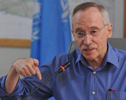 Guatemalteco es jefe de panel sobre armas químicas en Siria
