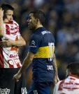 Tevez marcó de nuevo en la Bombonera, pero no fue suficiente para la victoria de su equipo. (Foto Prensa Libre: AFP)